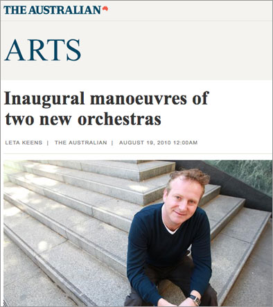 The Australian Arts Article
